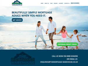 New mortgage web site